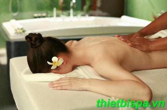 kỹ thuật massage Thái