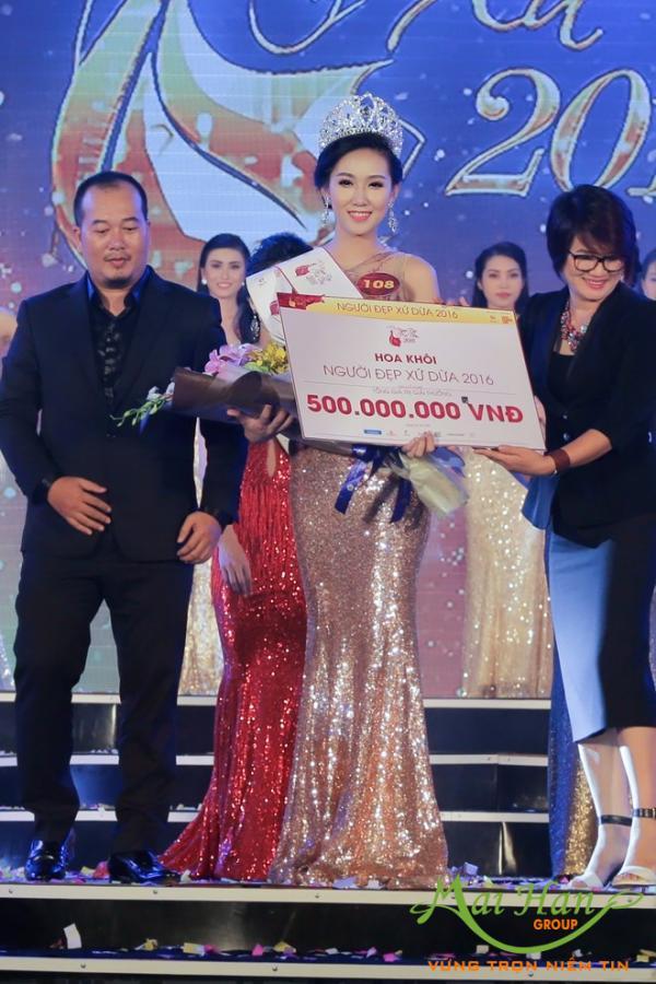 """Mai Hân Group đồng hành cùng cuộc thi nhan sắc """"Người đẹp xứ Dừa 2016"""""""