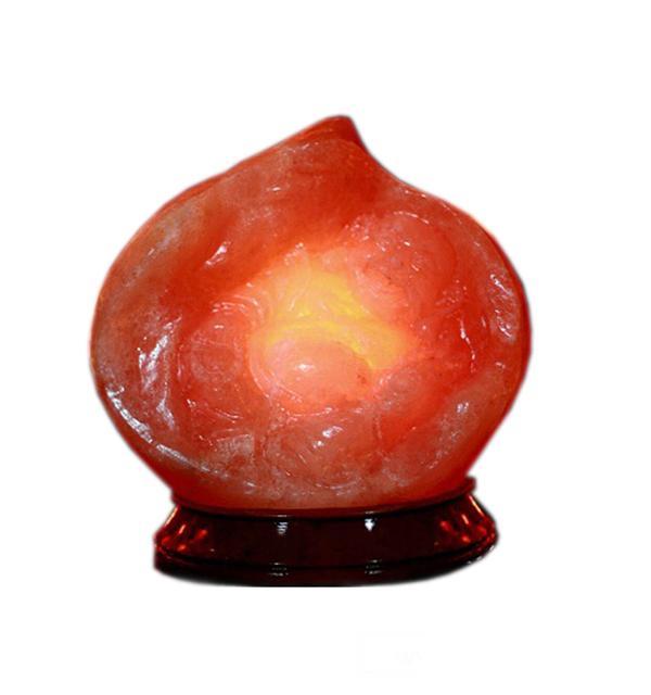Đá muối phong thủy trái đào tiên