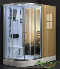 phòng xông hơi khô,phòng xông hơi ướt không chỉ là thư giãn