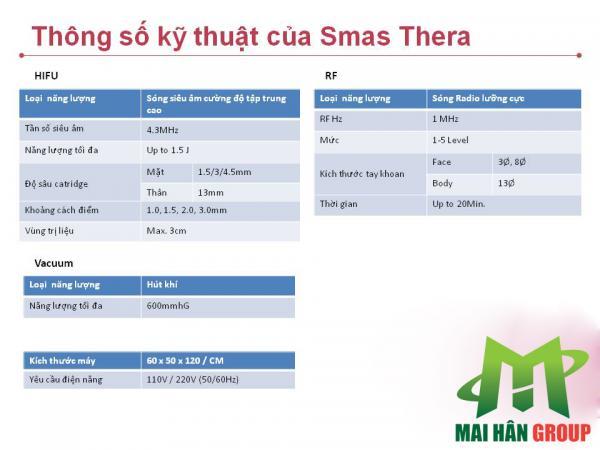 Máy nâng cơ trẻ hoá làn da Hifu Smas Thera