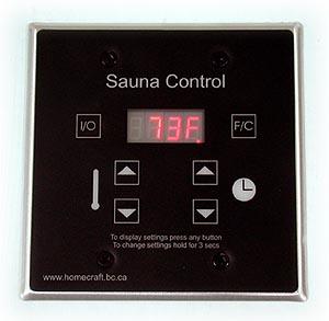 bảng điều khiển nhiệt độ