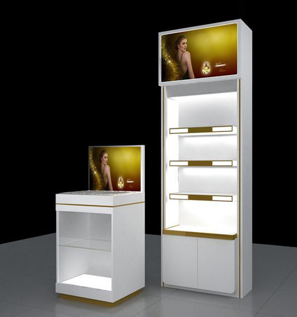 Tủ trưng bày mỹ phẩm MS 04