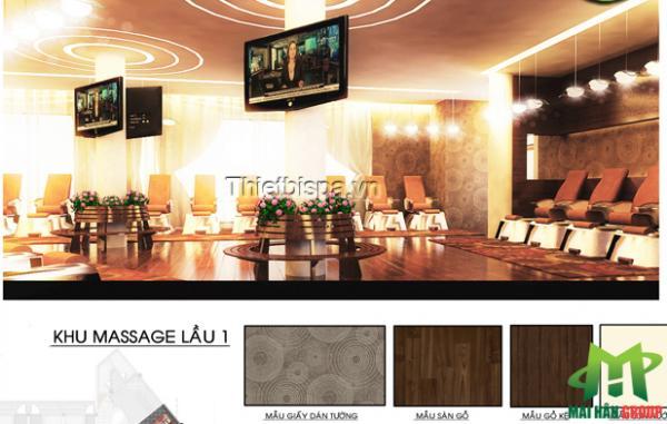 Khu massage lầu 1 spa Capsaint Jaques Thùy Vân, Vũng Tàu