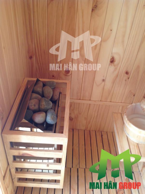 Phòng xông hơi trong spa gia đình 167 Nguyễn Đình Chiểu