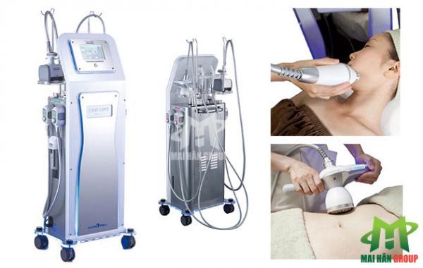 Máy giảm cân Cavi-Lipo V-Dex sử dụng cho hầu hết các khu vực trên cơ thể