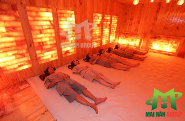 Xu hướng chăm sóc sức khỏe với phòng xông hơi đá muối Hymalaya