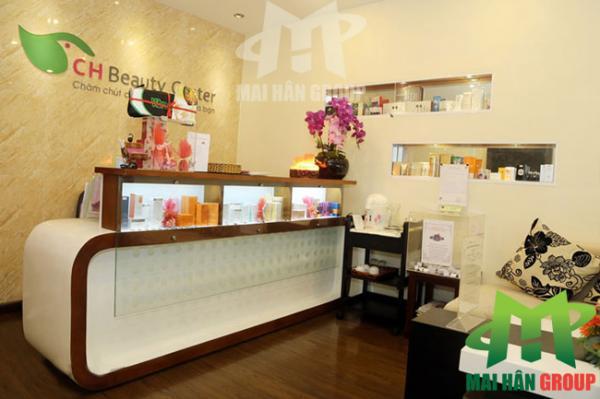 Quầy lễ tân CH Beauty Center Thành phố Hồ Chí Minh