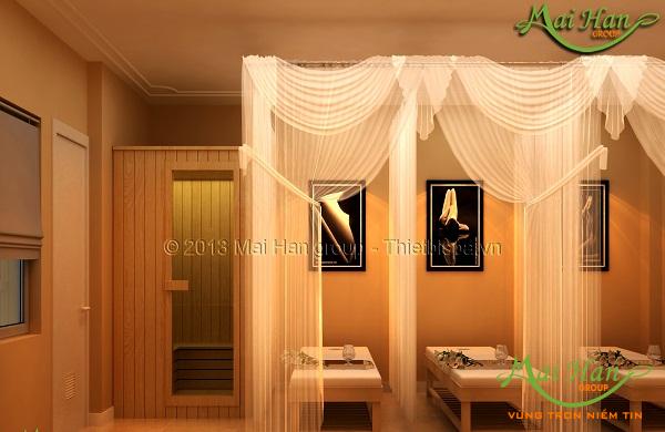 Những công cụ và vật tư cần thiết để mở spa: giường massage