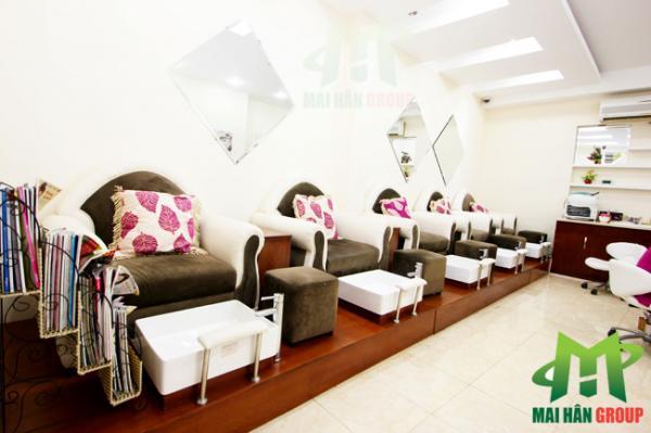 Khu vực làm móng CH Beauty Center Thành phố Hồ Chí Minh