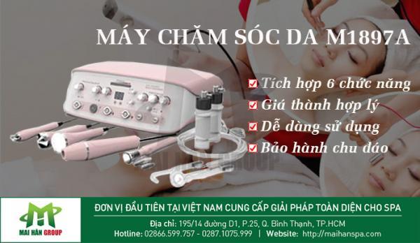 Top 3 dòng máy chăm sóc da cơ bản mới nhất các chủ spa cần phải trang bị