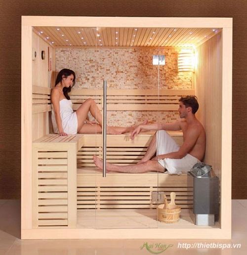 Thư giãn tuyệt vời cùng phòng xông hơi khô, phòng xông hơi ướt