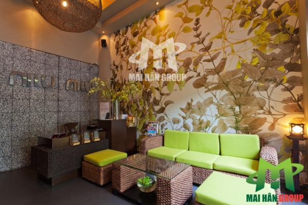 Phòng tiếp tân Miu Miu Spa (Hình 2)