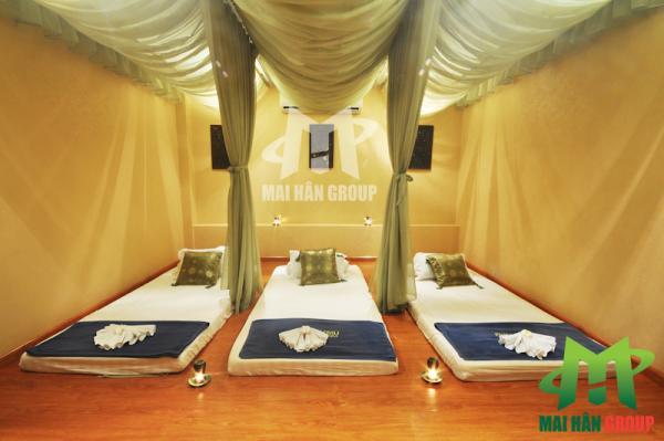 Phòng massage Body tại Miu Miu Spa
