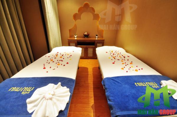 Phòng massage Body 2 tại Miu Miu Spa