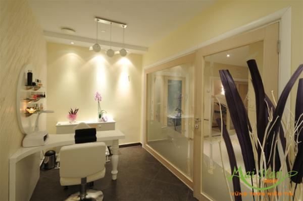 Thiết kế spa cho phòng spa mini ngay tại nhà như thế nào: hài hòa về bố cục, màu sắc…
