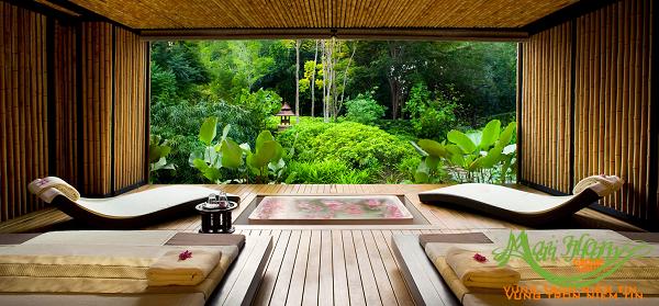 Làm sao để thiết kế spa đẹp từ các góc nhìn:thiên nhiên