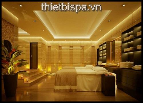 Hình ảnh thiết kế nội thất spa đẹp