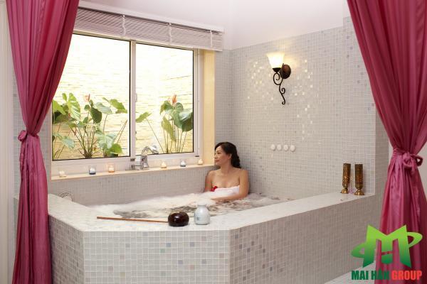 Phòng xông hơi  cá nhân tại Lá spa