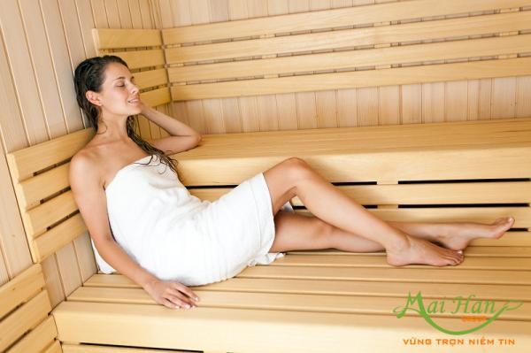 Những thói quen xông hơi, massage chết người cần tránh: không tắm sau khi xông hơi
