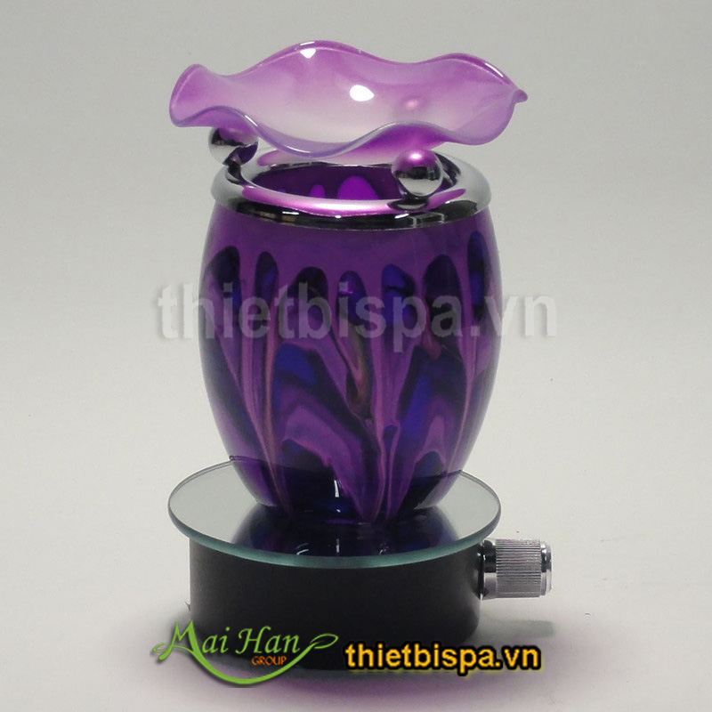 Đèn xông tinh dầu màu tím