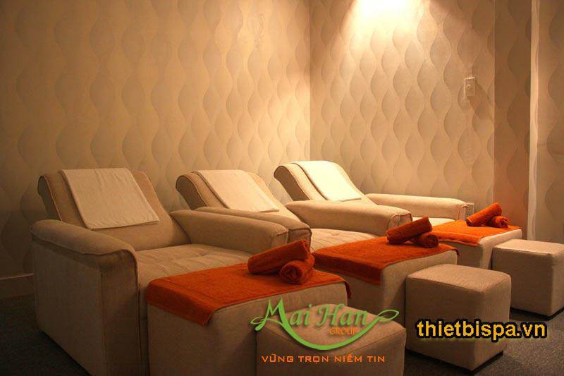 Thiết kế ghế foot massage