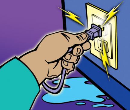 Ngắt điện nguồn máy xông hơi
