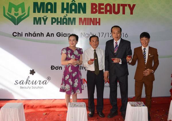 Mở rộng phục vụ phái đẹp khu vực miền Tây Nam Bộ, Mai Hân Beauty chính thức khai trương showroom An Giang