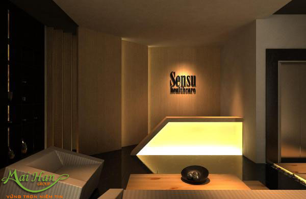 Thiết kế phòng tiếp tân spa
