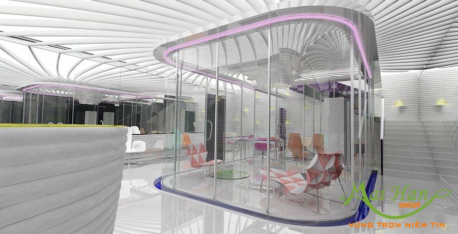 Thiết kế spa của Vizitiu Eduard