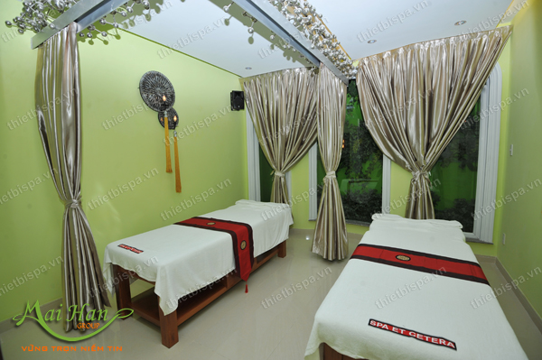 thiet ke spa massage