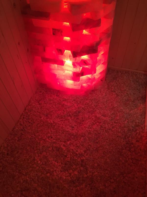Công trình phòng xông hơi đá muối Rock Salt Sauna ProCoach – Quận 1
