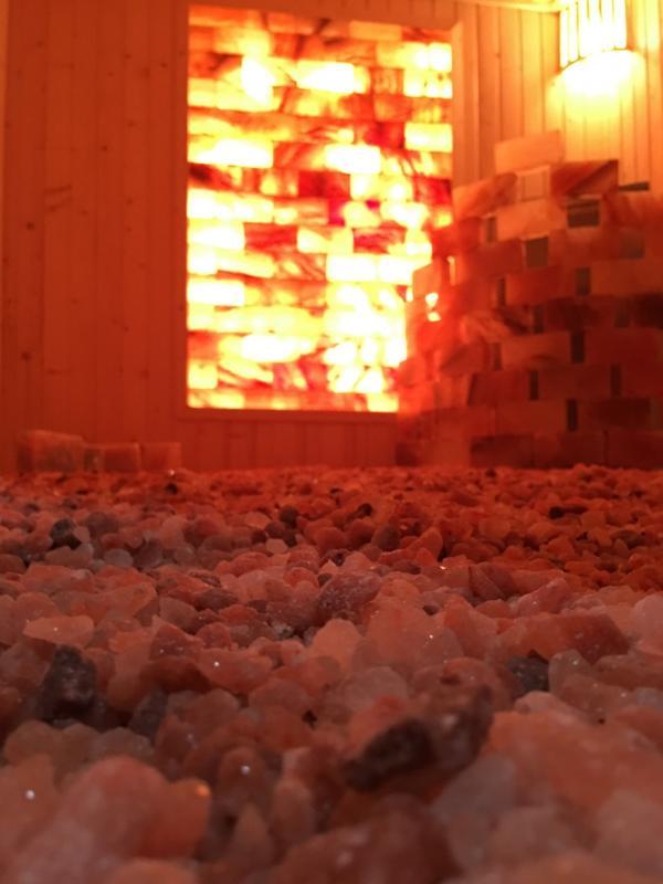Công trình phòng xông hơi đá muối Spa Trang Pap Bình Dương