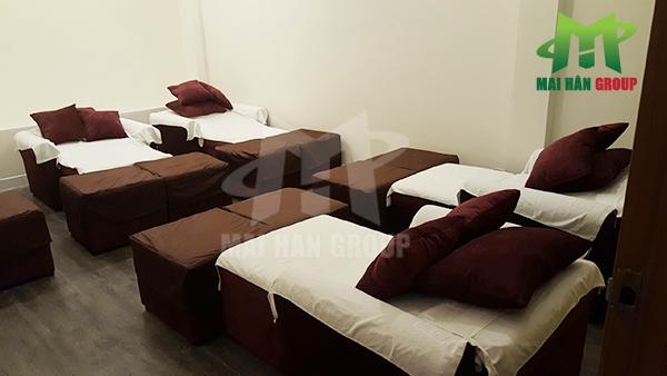 Mai Hân đồng hành cùng Bến Thành Foot Massage với dự án cung cấp 36 ghế foot massage