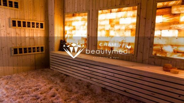 Phòng xông hơi đá muối ChamBeautyMedi