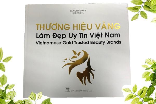 """Mai Hân Group vinh dự đồng hành cùng chương trình """"Thương Hiệu Vàng Làm Đẹp Uy Tín Việt Nam 2018"""""""