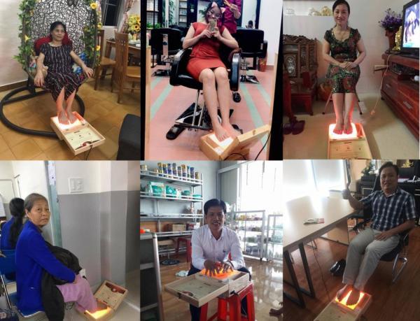 Mùa hè đến rồi! Sử dụng và bảo quản hộp đá muối massage chân Love Stone như thế nào cho hiệu quả?