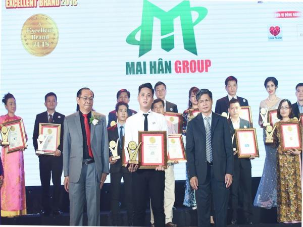 Mai Hân Group Tự Hào Vinh Danh Thương Hiệu Xuất Sắc Excellent Brand Lần Thứ 4