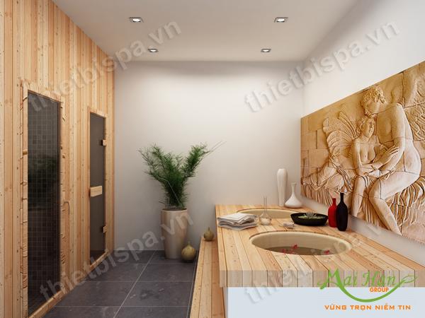 Xu hướng thiết kế spa tại nhà 2013