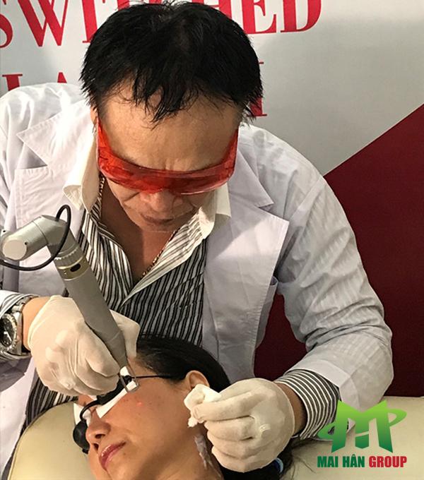 Ứng dụng công nghệ Super Laser II trong điều trị nám, tàn nhang, xóa xăm