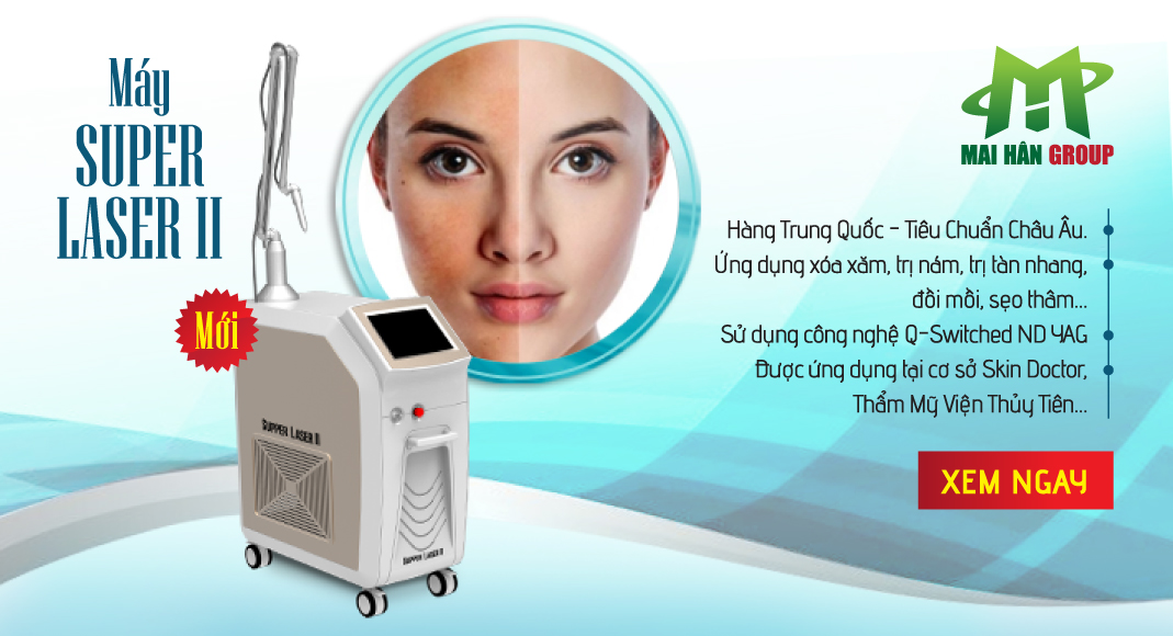 Super Laser II - Công nghệ Laser Q-switched ND Yag