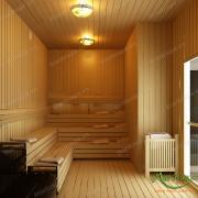 Phòng xông hơi sauna 06