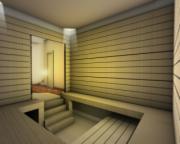 mẫu phòng xông hơi sauna sang trọng