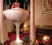 bồn tắm đôi lãng mạn dành cho các cặp đôi.
