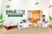 """""""Sale tưng bừng – Mua không ngừng""""chỉ duy nhất trong tháng 9 tại Mai Hân Group"""