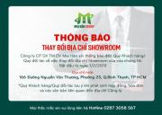 Thông báo Mai Hân Group thay đổi địa chỉ showroom từ ngày 22/02/2019