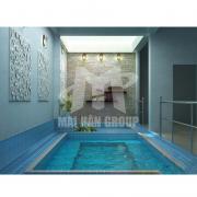 Bồn massage xây jacuzzi ms 20