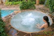 Bồn massage xây jacuzzi ms 03