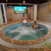 Bồn massage xây jacuzzi ms 13