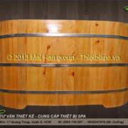Bồn tắm gỗ MS 11